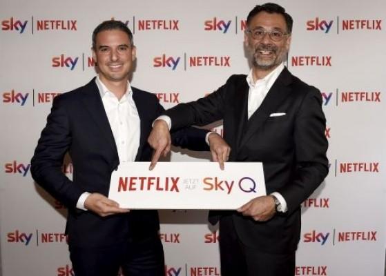 Mehr Komfort für Kunden: Netflix und Sky starten Kombi-Angebot