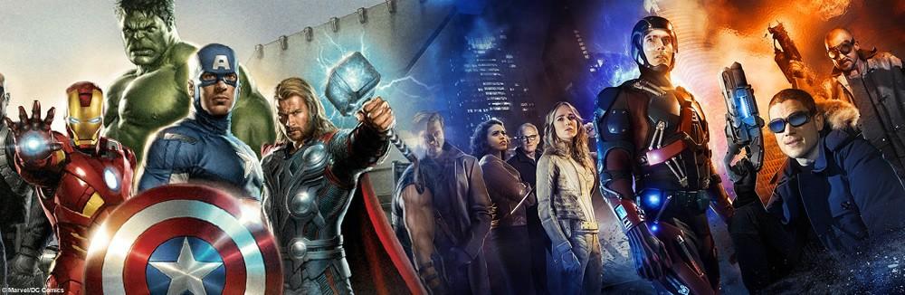 Marvel Und Dc Helden